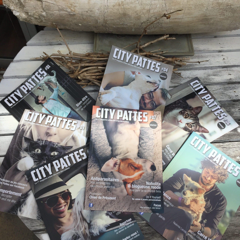 Les magazines City Pattes