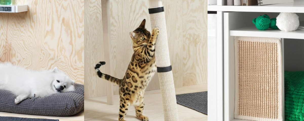 ikea lance enfin une collection styl e pour nos animaux de compagnie. Black Bedroom Furniture Sets. Home Design Ideas